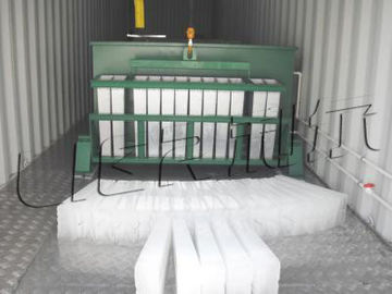 Chiny Energy Saving Industrial Ice Block Making Machine Anti Corrosion dystrybutor